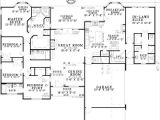 House Plans with attached Inlaw Apartment House Plans with Detached Guest Cottage