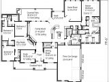 House Plans with Big Bedrooms Four Bedroom Large Family House Floor Plans Layout