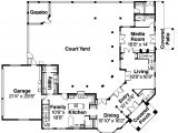 House Plans with Courtyards In Center Center Courtyard House Plans Homedesignpictures House