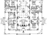 House Plans with Courtyards In Center Open Courtyard House Plan Hunters