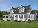 House Plans with Dormers and Front Porch Shown with Optional Doghouse Dormers 2 and Site Built
