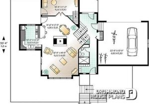 House Plans with Double Sided Fireplace House Plan W2433 Detail From Drummondhouseplans Com