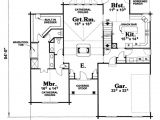 House Plans with Double Sided Fireplace Log Style House Plan 3 Beds 2 50 Baths 2516 Sq Ft Plan