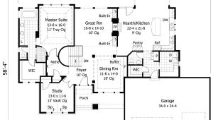 House Plans with Double Sided Fireplace Two Sided Fireplace Design 14355rk Architectural