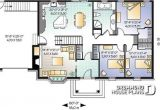 House Plans with Foyer Entrance House Plan W3230 Detail From Drummondhouseplans Com