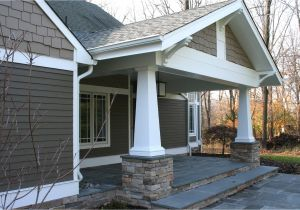 House Plans with Front Porch Columns Craftsman Style Front Porch Columns
