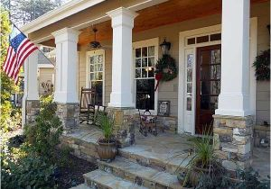 House Plans with Front Porch Columns Plan 29838rl Rustic Appeal with Country Front Porch