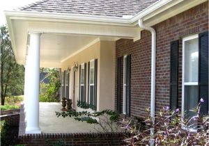 House Plans with Front Porch Columns Ranch Home Plans with Front Porches