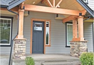 House Plans with Front Porch Columns the 25 Best Craftsman Front Porches Ideas On Pinterest