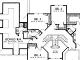 House Plans with Grand Staircase 15 Best Dual Staircase House Plans House Plans 40058