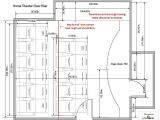 House Plans with Home theater Home theatre Floor Plans House Design Plans
