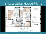 House Plans with Inlaw Suite or Apartment House Plans with Inlaw Suite On First Floor Apartments