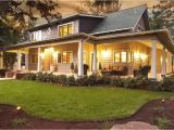House Plans with Large Front and Back Porches Large Front Porch House Plans