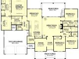 House Plans with Large Great Rooms One Story House Plans with Great Room New 4 Bedroom House