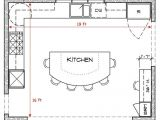 House Plans with Large Kitchen island 17 Best Ideas About Kitchen Floor Plans On Pinterest
