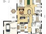 House Plans with Large Kitchen island Lovely One Story House Plans with Kitchen island House Plan