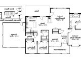 House Plans with Large Kitchen island One Story House Plans with Kitchen island