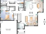 House Plans with Large Kitchen island Plan 22423dr Open Floor Plan Craftsman House Open Floor