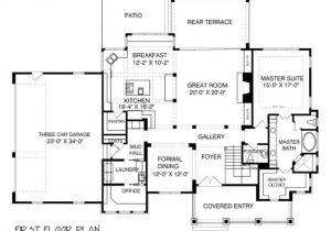 House Plans with Large Mud Rooms Houseplans Com Bungalow Craftsman Main Floor Plan Plan
