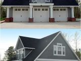 House Plans with Loft Over Garage Double Duty 3 Car Garage Cottage W Living Quarters Hq