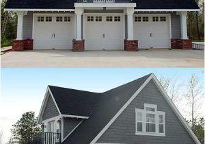 House Plans with Loft Over Garage Double Duty 3 Car Garage Cottage W Living Quarters Hq