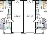 House Plans with Lots Of Storage Multi Family Plan W3055 Detail From Drummondhouseplans Com