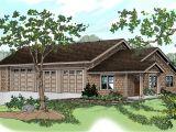 House Plans with Motorhome Garage Craftsman House Plans Rv Garage W Living 20 042