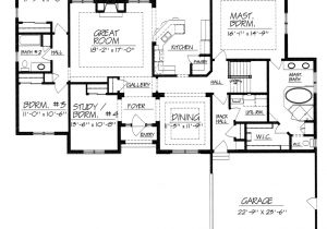 House Plans with No formal Dining Room or Living Room One Story House Plans without Dining Room Home Deco Plans