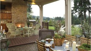 House Plans with Outdoor Living Space Sizzling Outdoor Kitchen Designs the House Designers