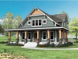 House Plans with Porch All Around Craftsman with Wrap Around Porch 500015vv 2nd Floor