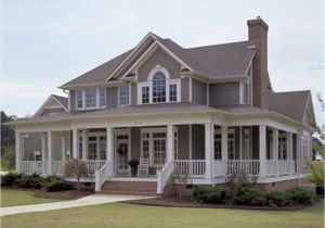 House Plans with Porches All Around Country Style House Plan 3 Beds 3 Baths 2112 Sq Ft Plan