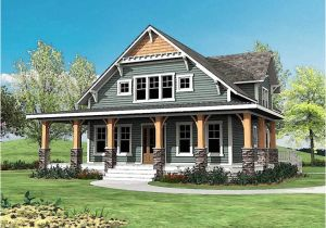 House Plans with Porches All Around Craftsman with Wrap Around Porch 500015vv 2nd Floor