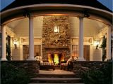 House Plans with Porches and Fireplaces On the Drawing Board 6 Outdoor Fireplaces