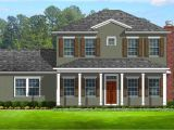 House Plans with Porches On Front and Back Colonial with Front and Back Porches 82099ka