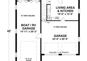 House Plans with Rv Storage Boat Rv Garage 3068 1 Bedroom and 1 5 Baths the House