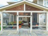 House Plans with Screened Back Porch Craftsman Style Screened Porch with Custom Flagstone