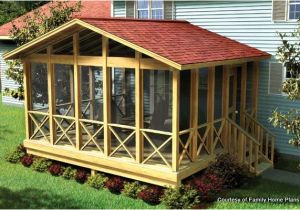 House Plans with Screened Back Porch Screened In Porch Plans to Build or Modify