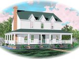House Plans with Second Story Porch Farmhouse Home Plan with Wrap Around Porch 58277sv 2nd