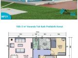 House Plans with Separate Kitchen Mp21 108m2 5m2 3 Bedrooms Separate Kitchen and Lounge