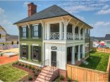 House Plans with Side Porch Charleston Style Home with Double Porch and Brick