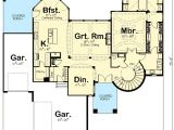 House Plans with Spiral Staircase Spiral Stair Elegance 62493dj Architectural Designs