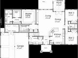 House Plans with tornado Safe Room One Story House Plans House Plans with Bonus Room House