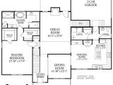 House Plans with Two Bedrooms Downstairs House Plan 2675 C Longcreek Quot C Quot First Floor Traditional 2