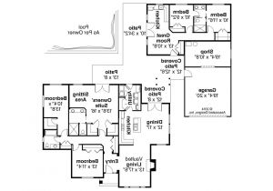 House Plans with Two Separate Living Quarters House Plans with Separate Living Quarters Modern Style