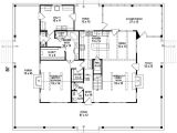 House Plans with Wrap Around Porch and Open Floor Plan 653684 3 Bedroom 2 5 Bath southern House Plan with Wrap