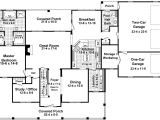 House Plans with Wrap Around Porch and Open Floor Plan Country Home Floor Plans with Porches