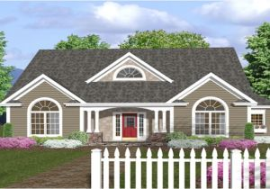 House Plans with Wrap Around Porches 1 Story One Story House Plans with Front Porches One Story House