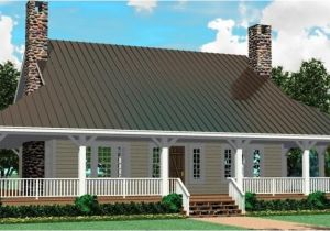 House Plans with Wrap Around Porches 1 Story One Story House Plans with Wrap Around Porch Cottage