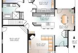 House Plans without Open Concept House Plan W3235 V2 Detail From Drummondhouseplans Com