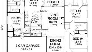 House Plans without Open Concept Open Concept Plan Great for Entertaining House Plan Hunters